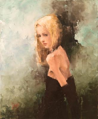 Alexander Cepel. Girl in gloves
