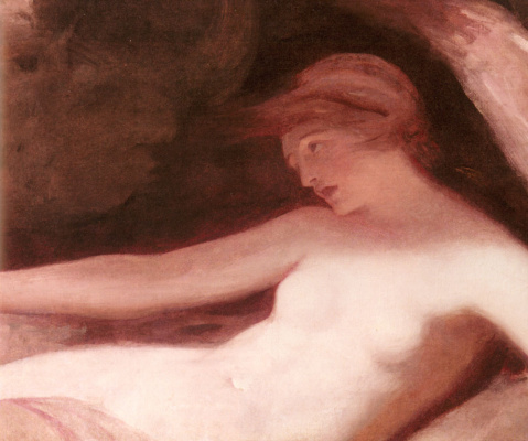 George Romney. Reclining Nude