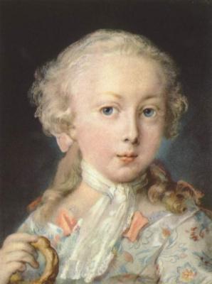 Розальба Каррьера (Каррера). Мальчик из семьи Леблон