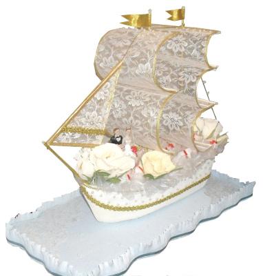 Алёна Голованова. Кружевной корабль на кружевную свадьбу