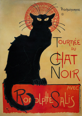 """The black cat"" (Le Chat Noir)"