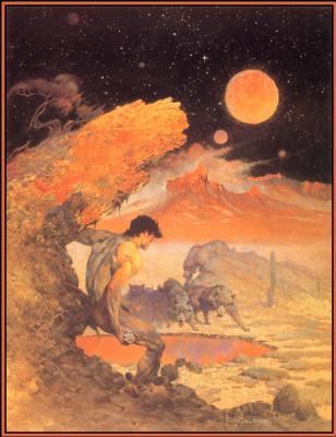 Frank Frazetta. Wolf Moon