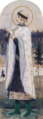 Mikhail Vasilyevich Nesterov. Holy Prince Gleb
