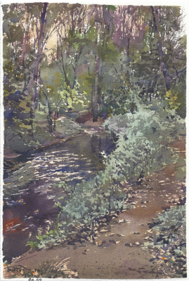 Anton Batov. Creek