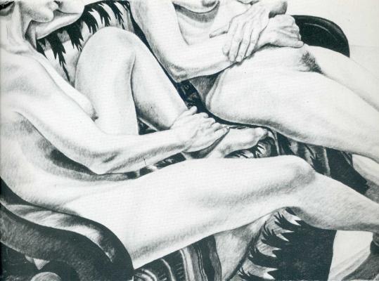 Филипп Перельштейн. Две голые женщины