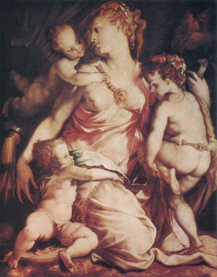 Francesco Salviati. Charity