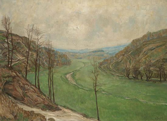 Alexander Yakovlev. Landscape. 1930