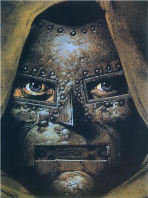 Гленн Фабри. Железное лицо