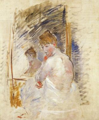 Berthe Morisot. Before going to sleep