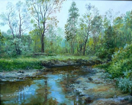 Vladimir Kimovich Vakhrushev. The river Dubenka