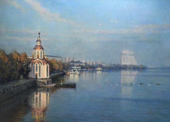 Александр Владимирович Кусенко. Church of John the Baptist on the Dnieper