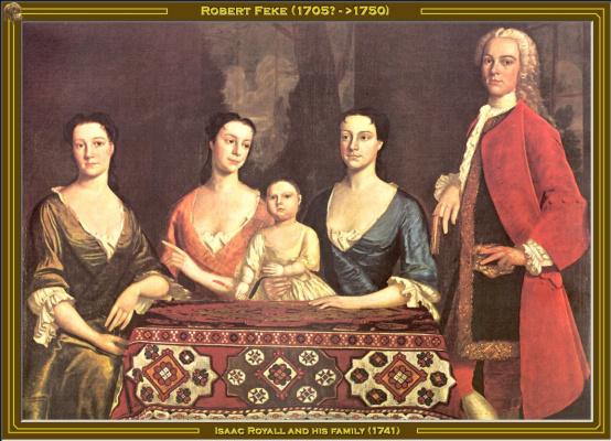 Исаак и его семья