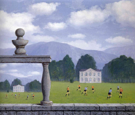 René Magritte. View