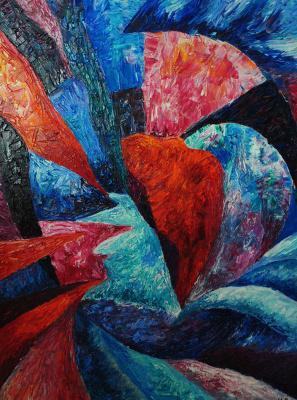 "Irina Shumskaya. The painting ""Birth of a Soul"" Irina SHUMSKAYA"