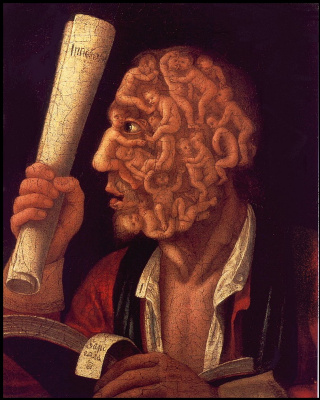 Giuseppe Arcimboldo. Portrait Of Adam