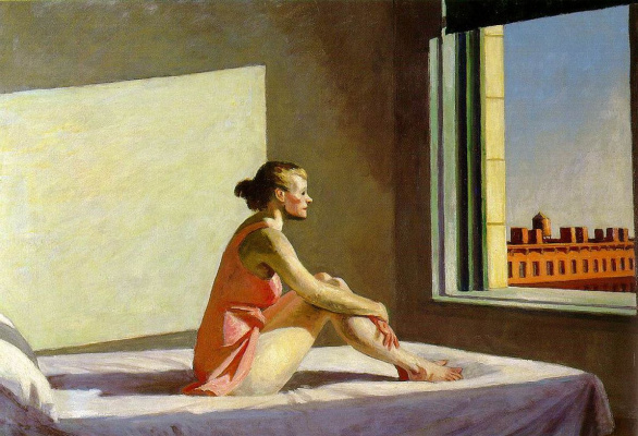 Edward Hopper. The morning sun