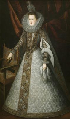 Хуан Пантоха де ла Крус. Маргарита Австрийская