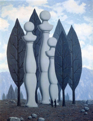 René Magritte. The art of conversation