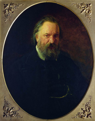 Nikolai Nikolaevich Ge. A portrait of the writer Alexander Ivanovich Herzen