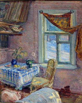 Мария Владимировна Ломакина. Interior with Ryzhik and shoes