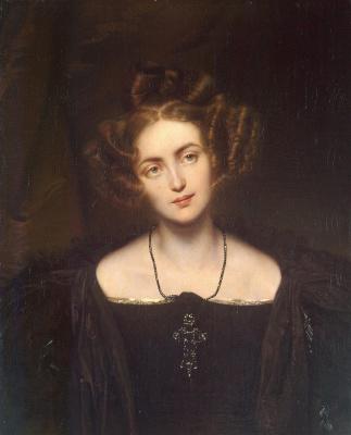 Paul Delaroche. Portrait Of Henrietta Sontag