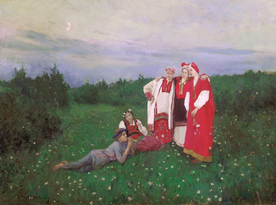 Konstantin Korovin. Northern idyll