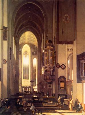 Emmanuel de Witte. Imaginary Church
