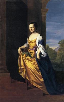 John Singleton Copley. Mrs. Jeremiah Lee (Martha Svitt)