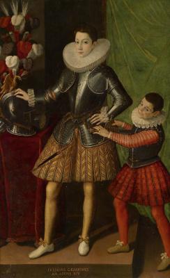Софонисба Ангвиссола. Портрет Джулиано II Чезарини в возрасте 14 лет