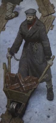 Heliy Mikhailovich Korzhev. Dostoevsky in prison