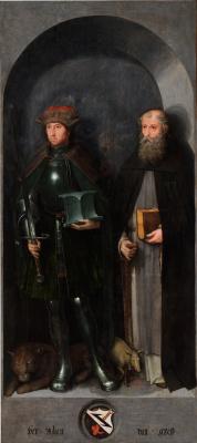 Михель Зиттов. Святой Адриан и святой Антоний