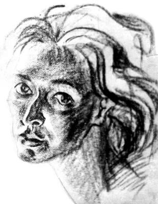 Tatyana Matveyevna Gromyko. Self-portrait