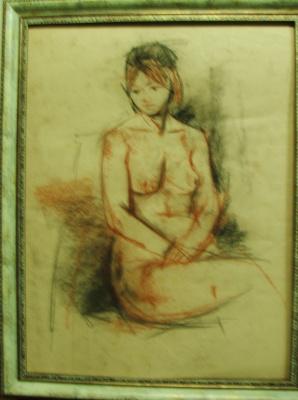 Anatoly Ivanovich Sukhorukikh. Nude