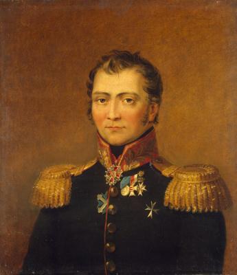 George Dow. Portrait Of Semyon Kh Stavrakeva