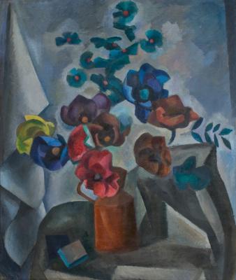 Robert Rafailovich Falk. Paper flowers