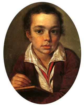 Alexey Gavrilovich Venetsianov. Portrait Of A. Putyatin