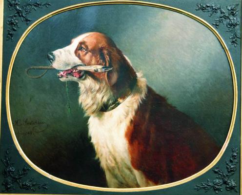 Николай Егорович Сверчков. Собака. 1881