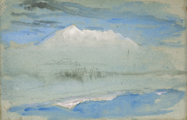 John Ruskin. View from Brantwood House, Coniston