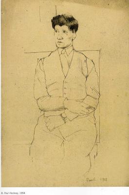 David Hockney. Portrait 12