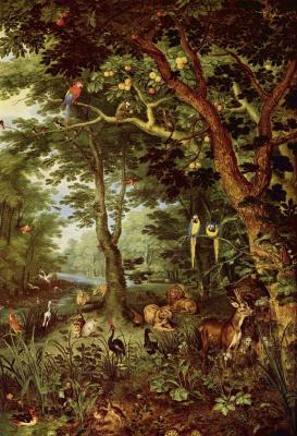 Jan Bruegel The Elder. Paradise