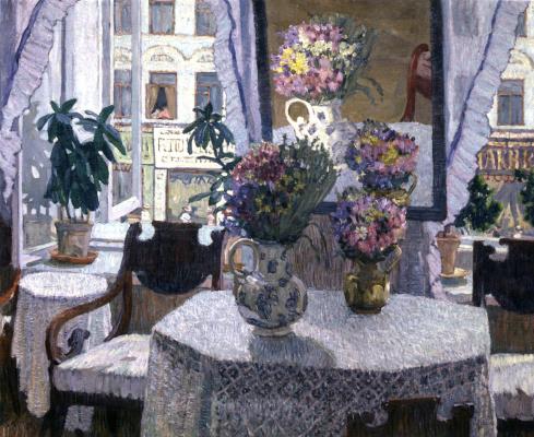 Константин Федорович Юон. Интерьер. 1907