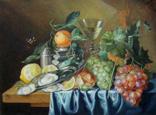 Igor Lemekhov. Dutch still life (copy)