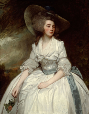 George Romney. Mrs. Francis Russell