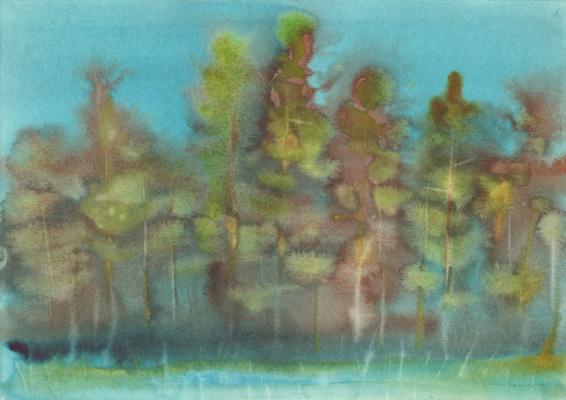 Вячеслав Крыжановский. In a pine forest