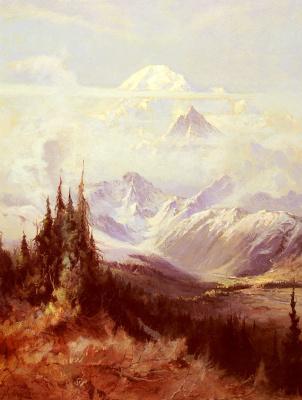 Сидней Лоуренс. Горы в тумане