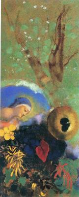 Odilon Redon. Dedication to Leonardo da Vinci