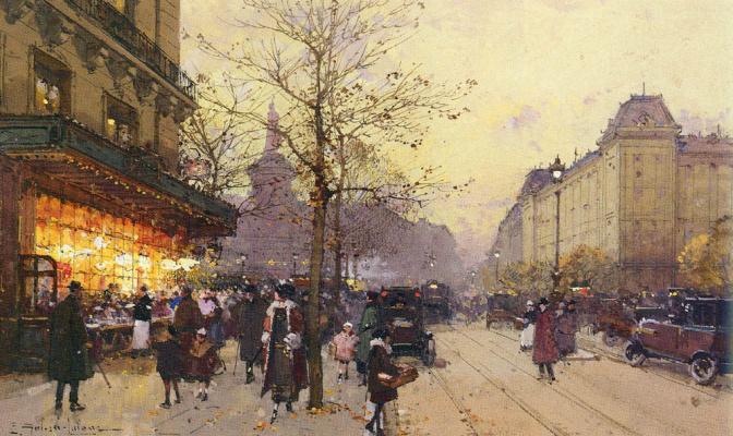 Эжен Галиен-Лалу. Париж