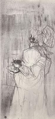 Henri de Toulouse-Lautrec. May Belfort