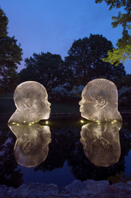 Jaume Plensa. Wilda and Irma