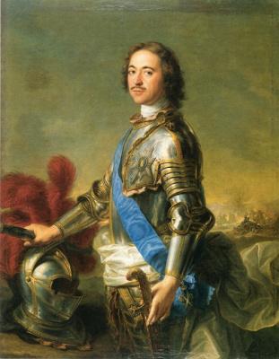 ЖАН-МАРК НАТЬЕ. Царь Пётр I. 1717
